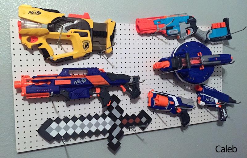 Nerf Gun Arsenal Nerf Gun Arsenal